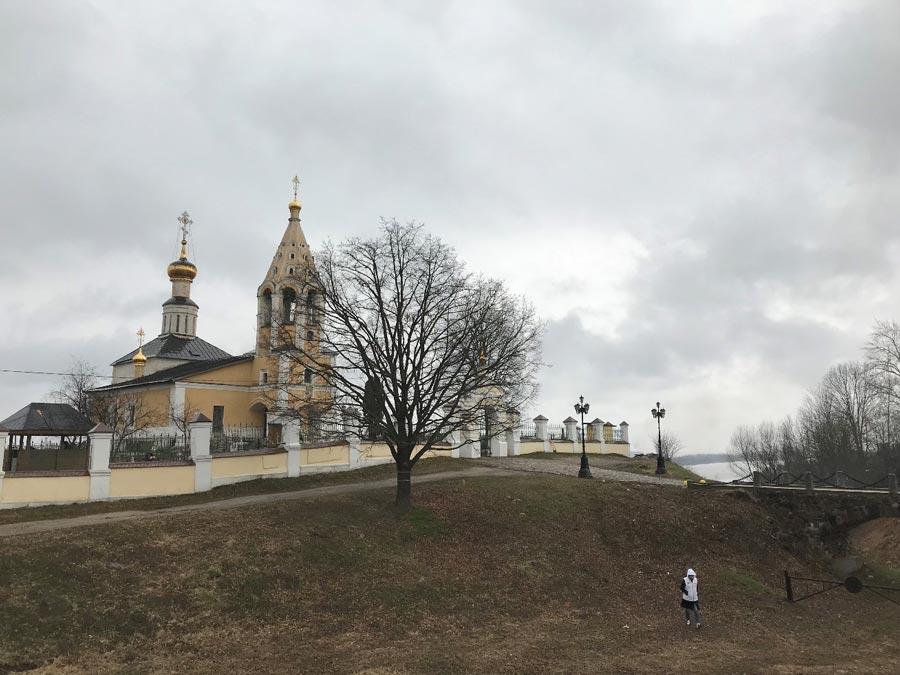 Храмовой комплекс вселе Завидово