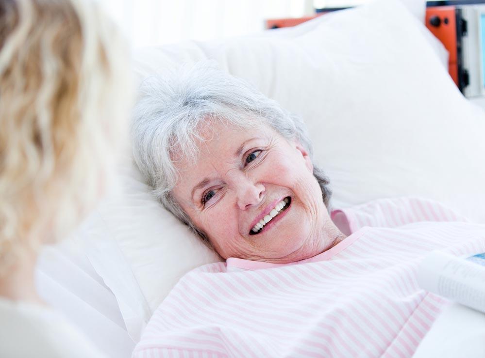 Развитие пролежней у лежачих больных