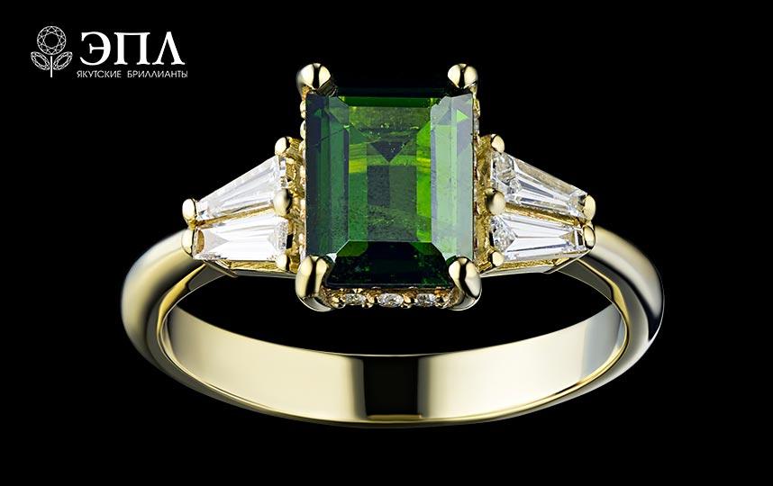 Якутские бриллианты: ювелирные украшения
