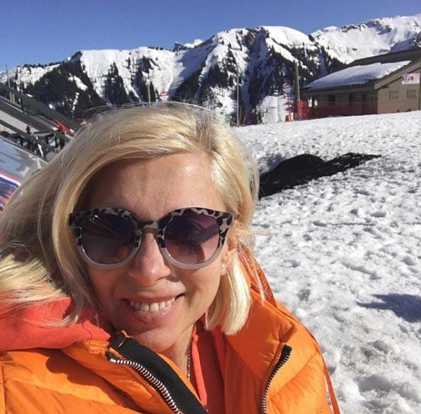 Алена Свиридова в 56 лет