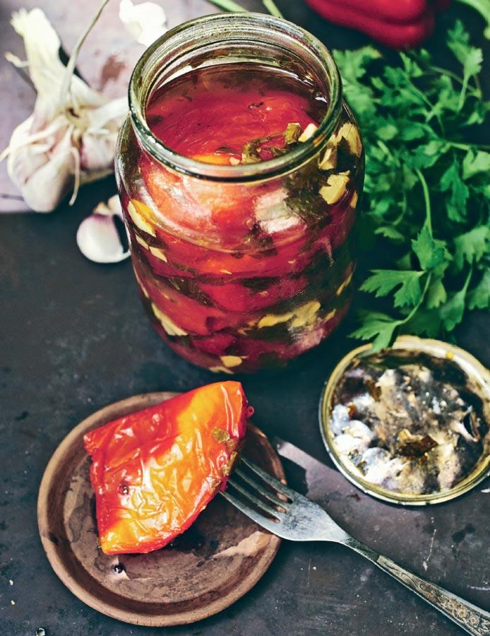Маринованный перец, рецепт