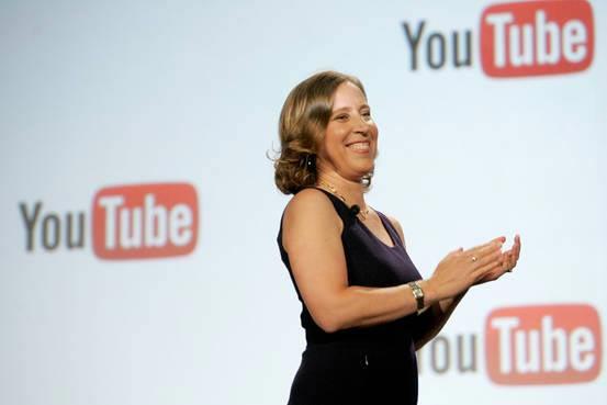 Susan Wojcicki, CEO YouTube