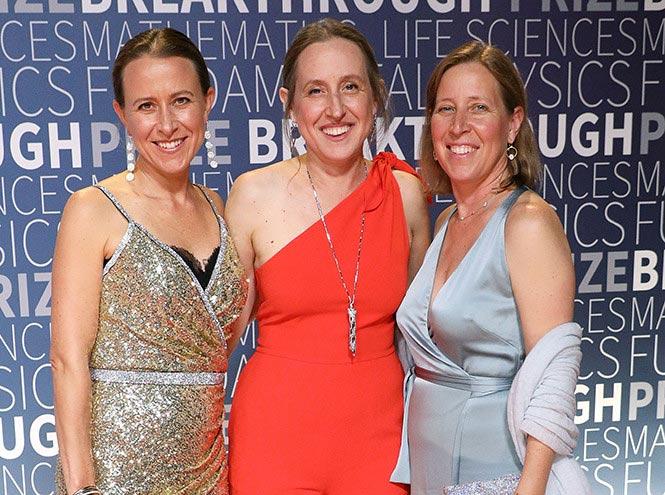 Сестры Wojcicki: Энн, Джанет, Сьюзен, 2018 г.