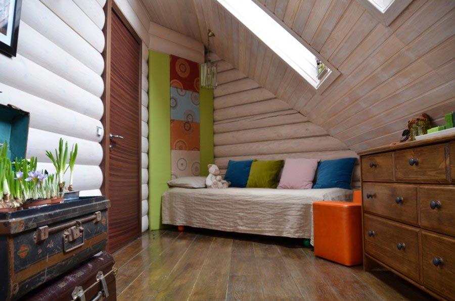 Дизайн детской комнаты на даче