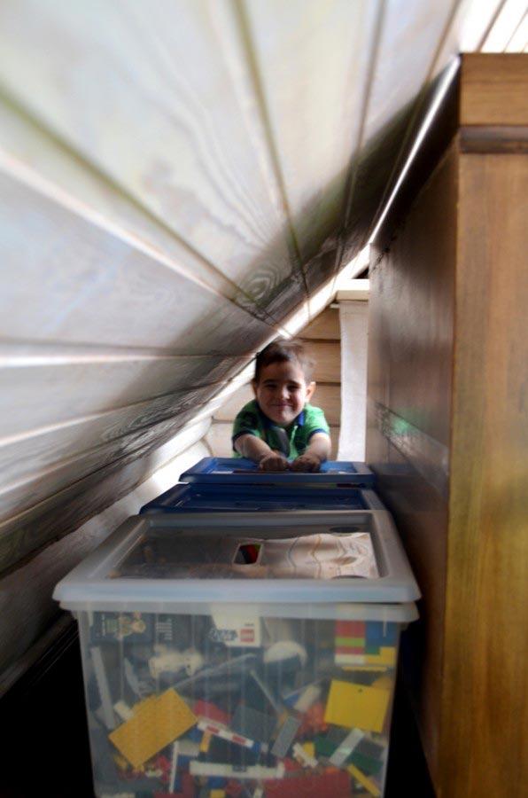Задача: комната для мальчика иего творческих экспериментов