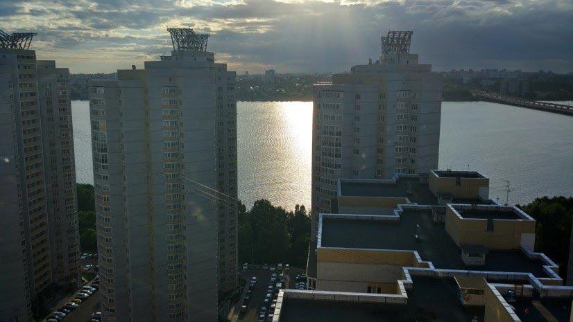 апартаменты на25-м этаже