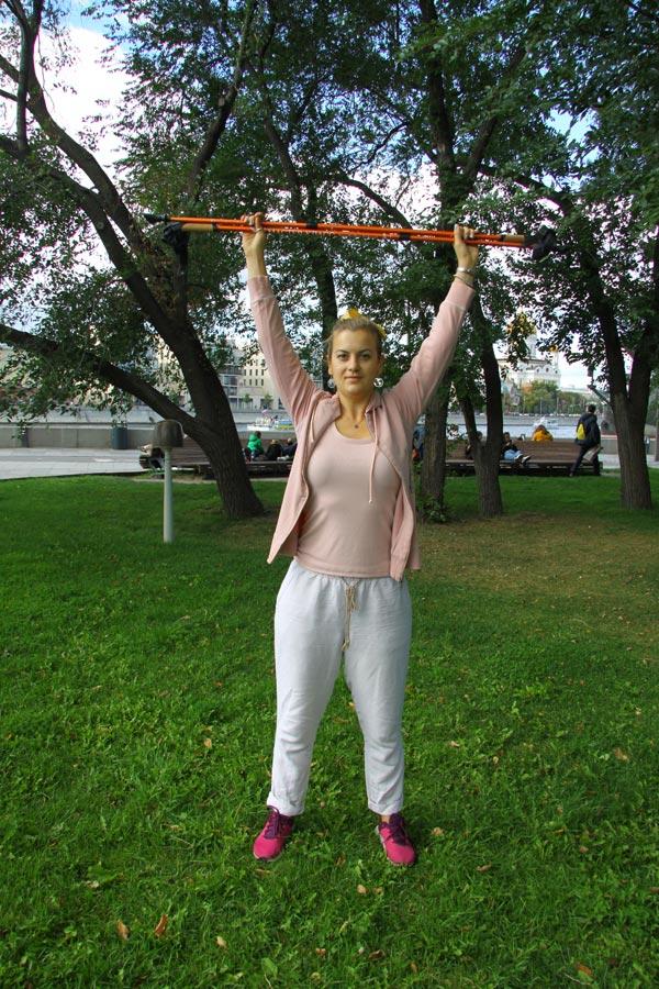 Как сделать разминку перед тренировкой поскандинавской ходьбе
