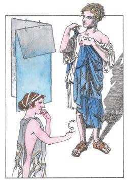 Вкакойже одежде ходили древние греки?