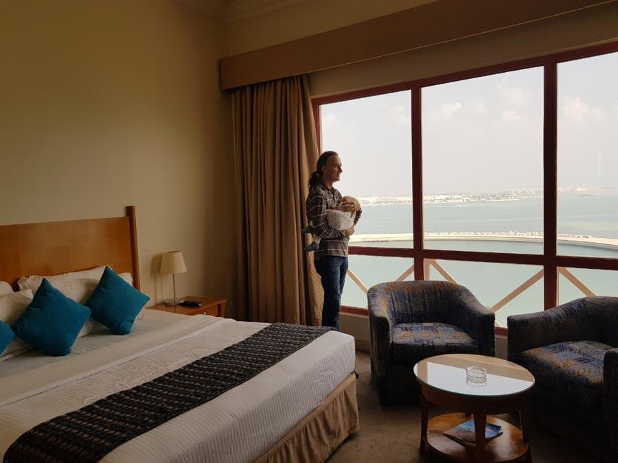 Отель в Бахрейне, отзыв с фото