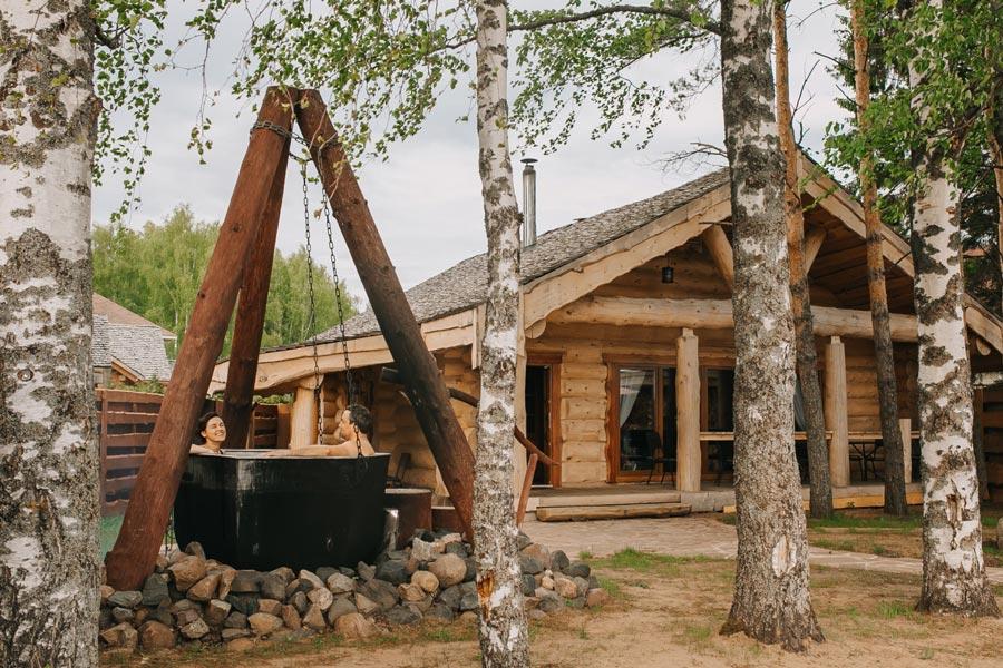 СПА-отель на Рыбинском водохранилище