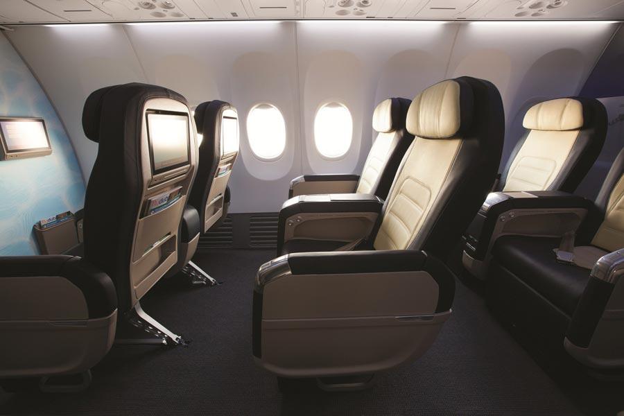 бизнес-класс flydubai