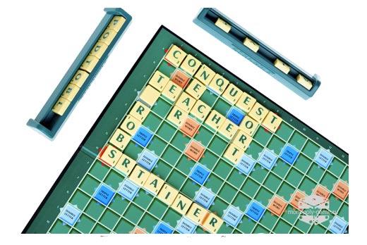 Поле оригинальной игры Scrabble
