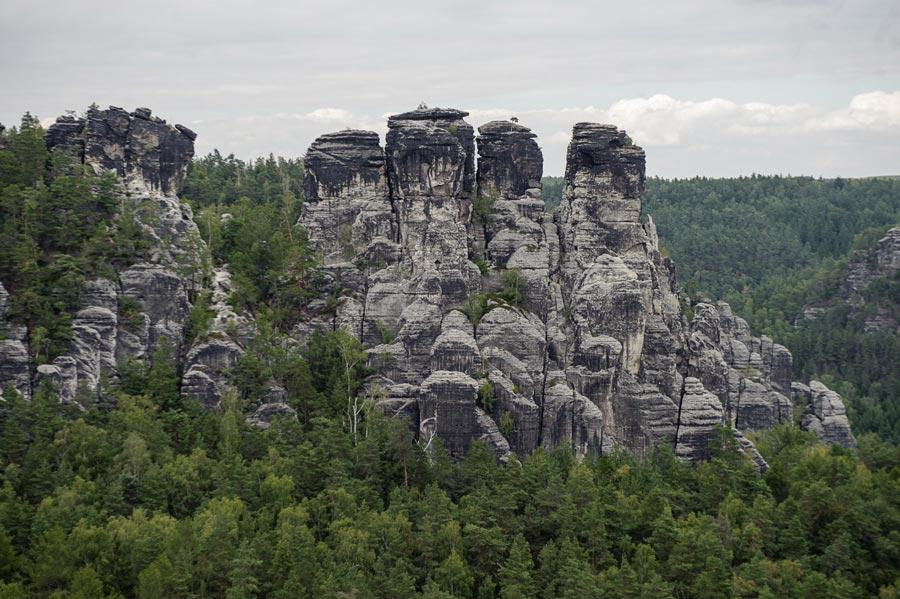 Саксонская Швейцария: замки искалы