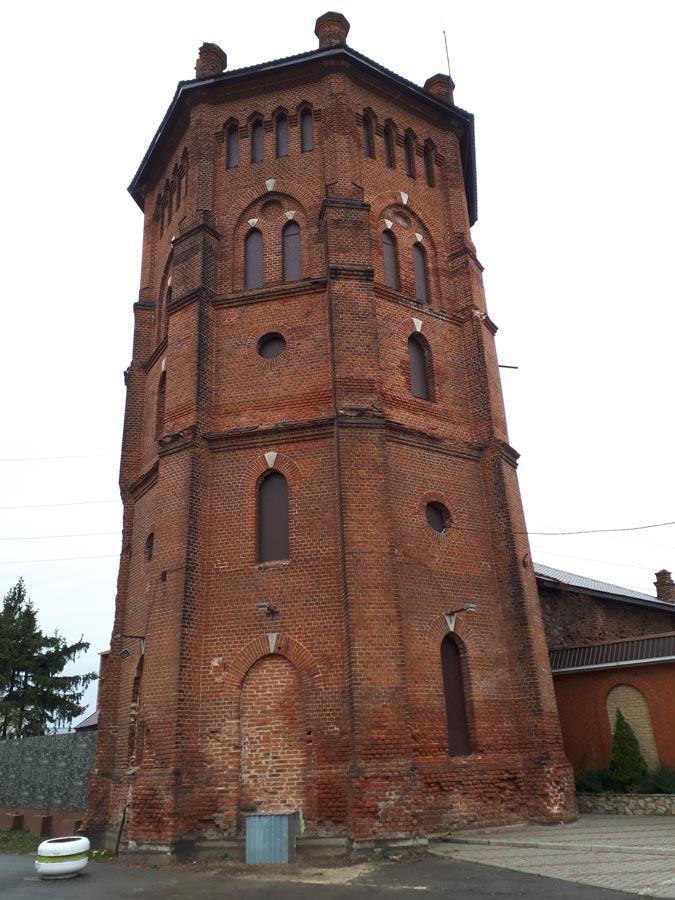Водонапорная башня при замке Ольденбургских