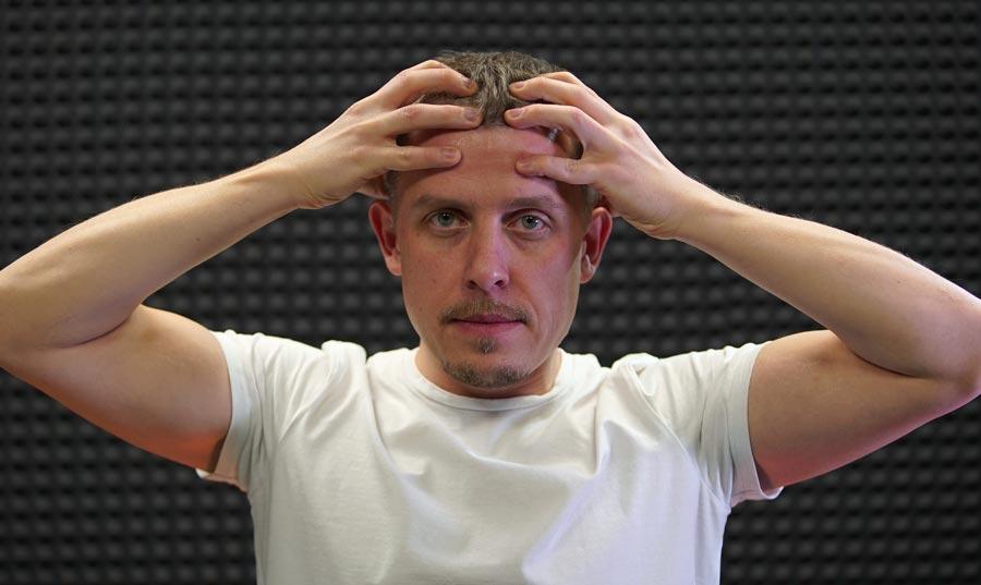 Самомассаж при головной боли