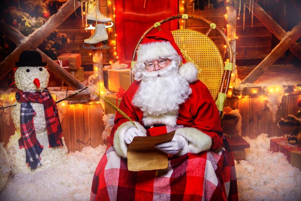 Санта-Клаус, вернее Йоулупукки