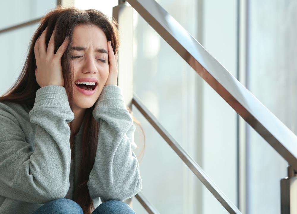 Как справиться сослезами или паникой