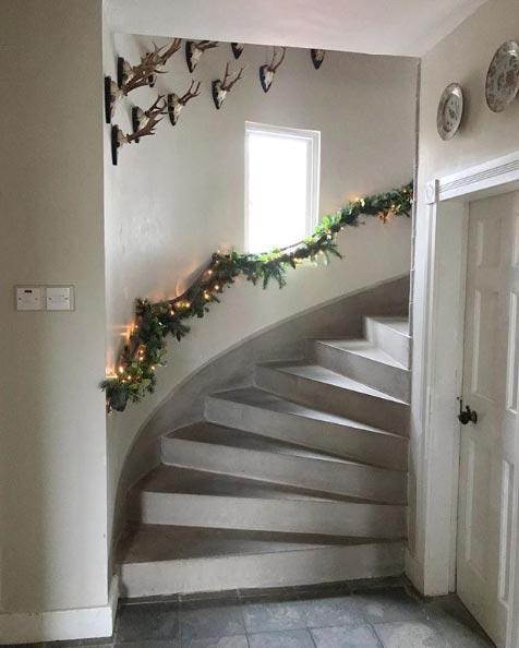 Украшать дом к Новому году