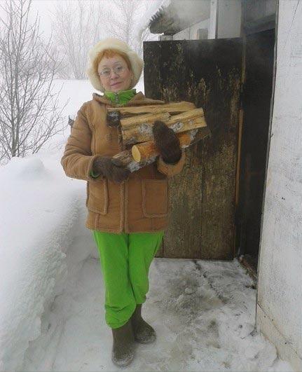 Что делать на даче зимой
