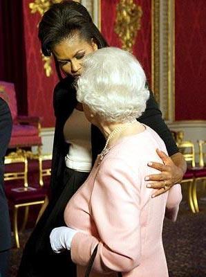 Мишель Обама и королева Елизавета