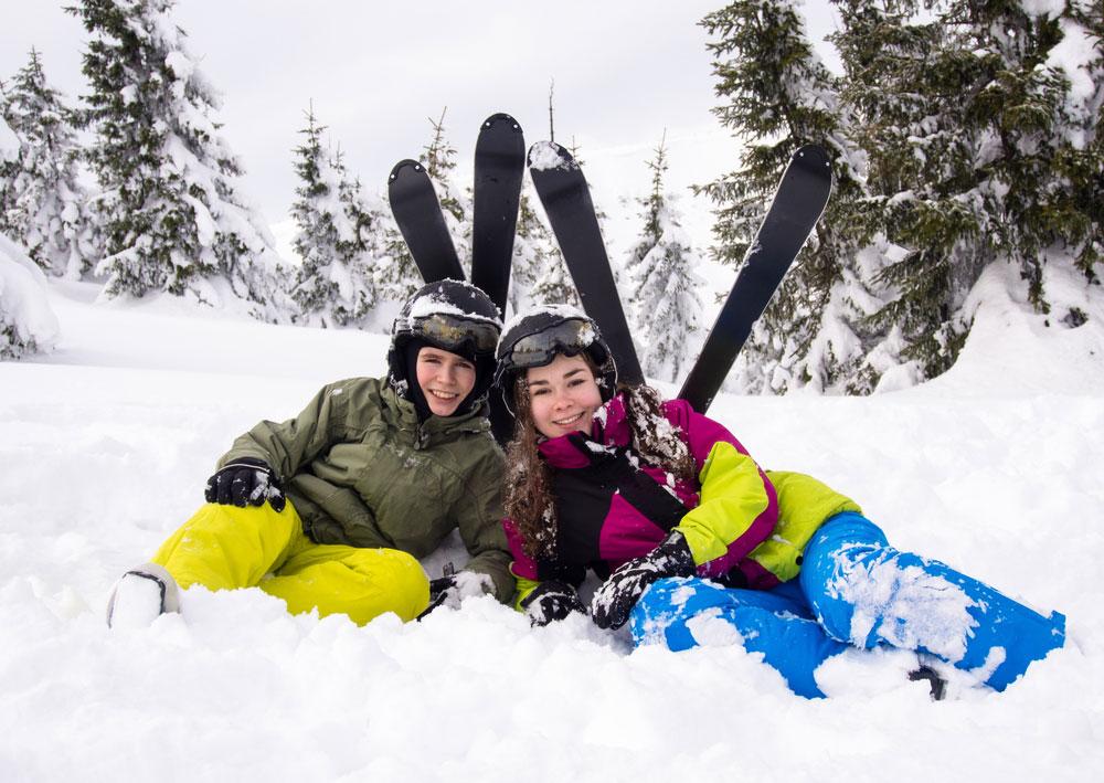 Кататься нагорных лыжах— модно