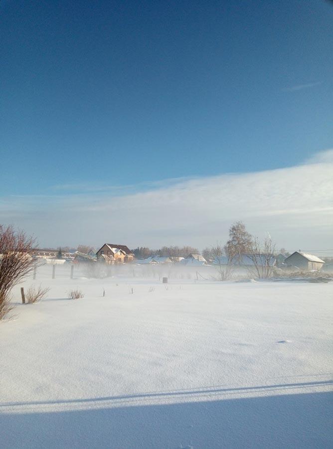 Зима в Среднем Поволжье