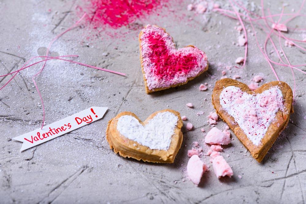День святого Валентина: сладости вместо мусора