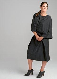 Строгое шерстяное платье