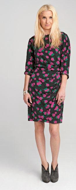 Винтажное дизайнерское платье