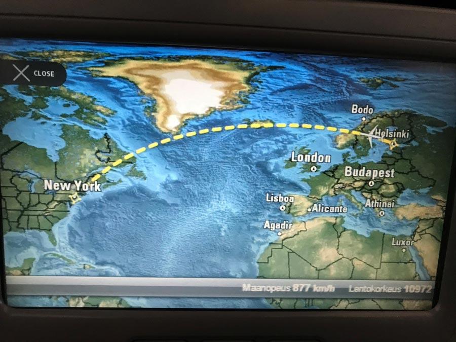 Finnair, отзыв
