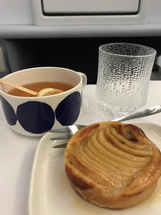 Питание во время перелета Finnair
