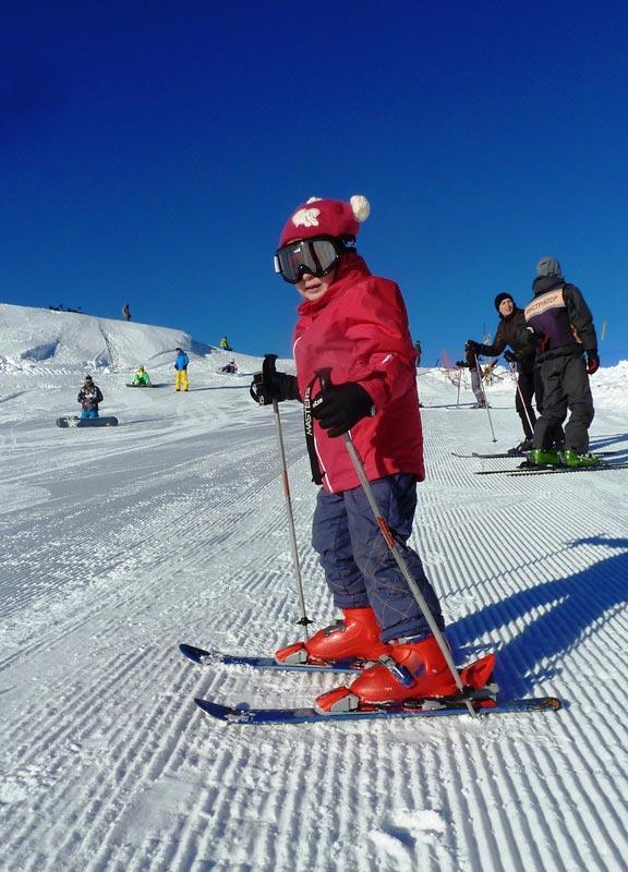 Отметить день рождения на горных лыжах