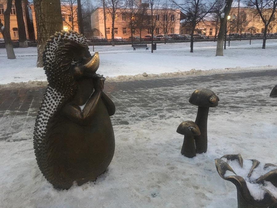 Зимняя Тула