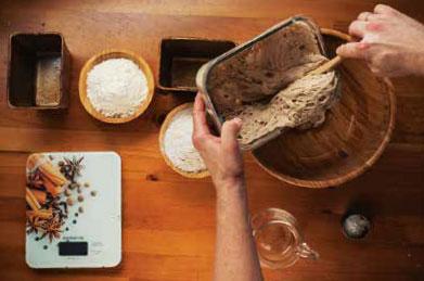 Как замесить тесто на опаре