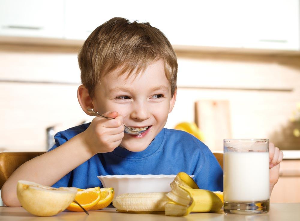 Как рекламировать ребенку правильное питание