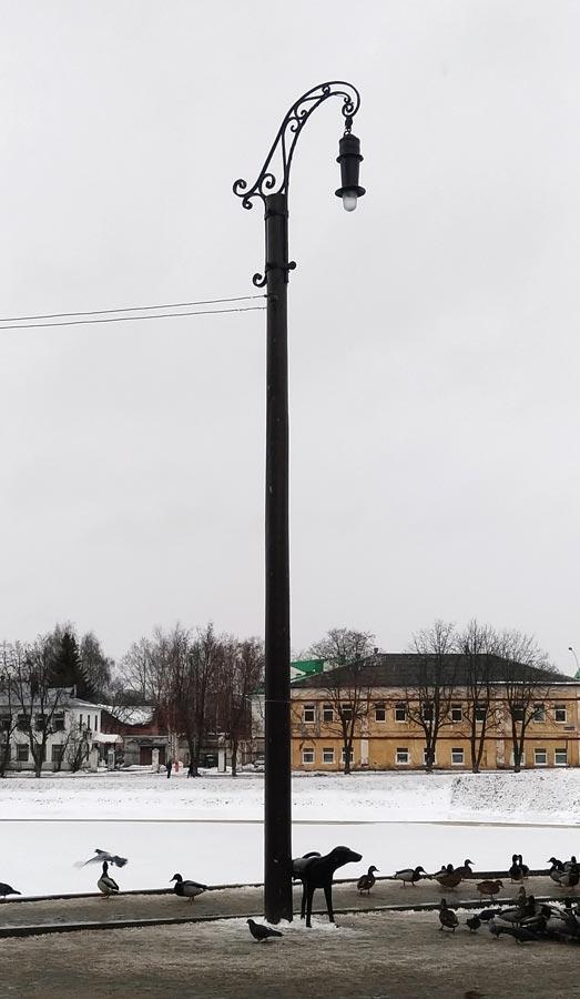 памятник 100-летию электрификации