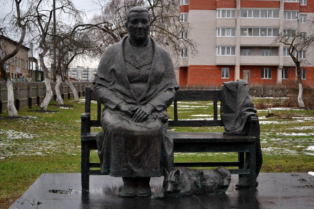 памятник Анне Тимофеевне Гагариной