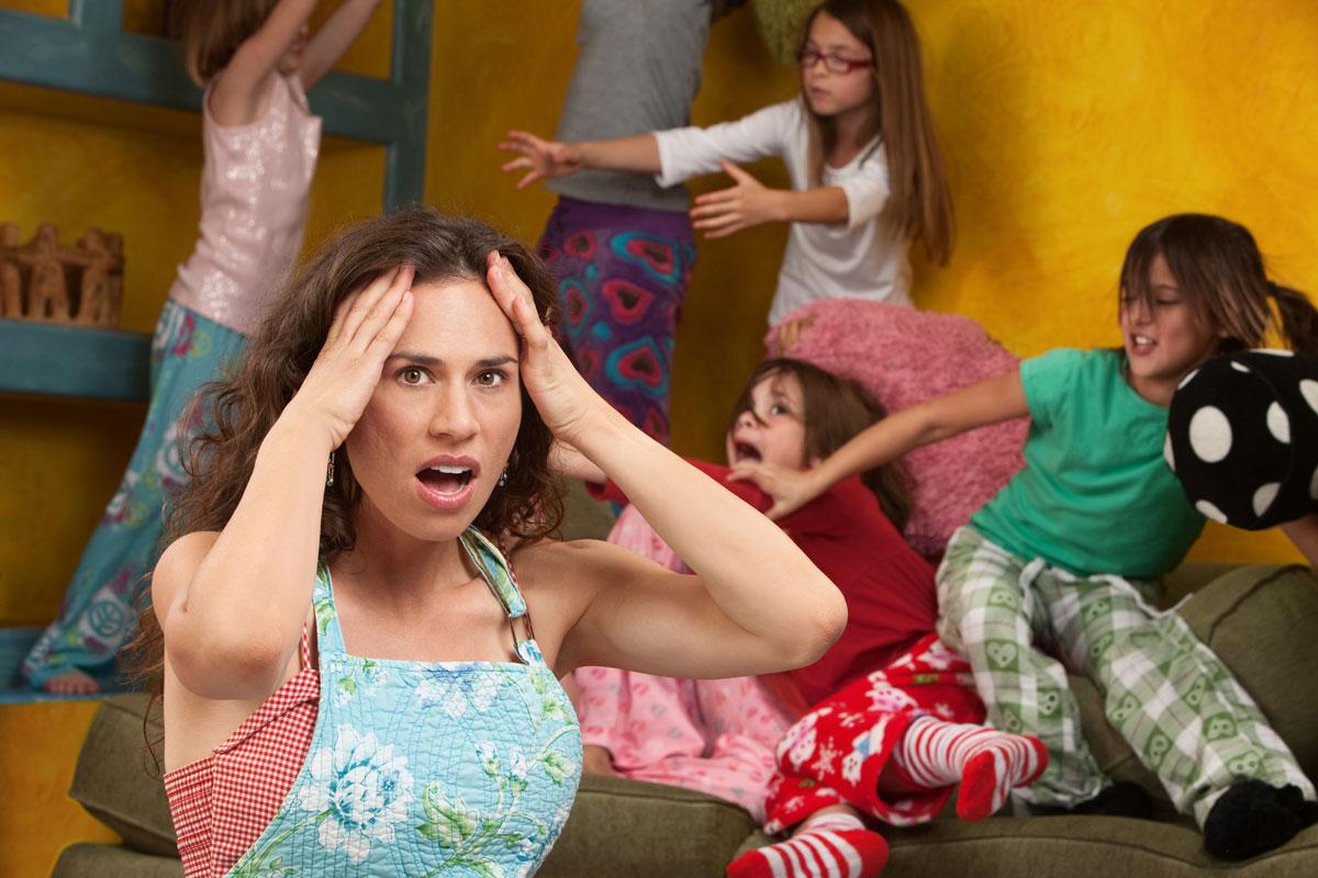 Если вас достали ссоры детей ибеспорядок вквартире