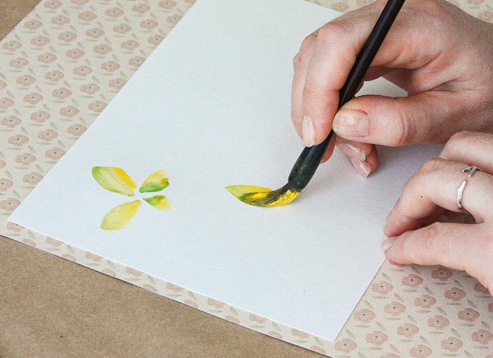 как научиться рисовать красками
