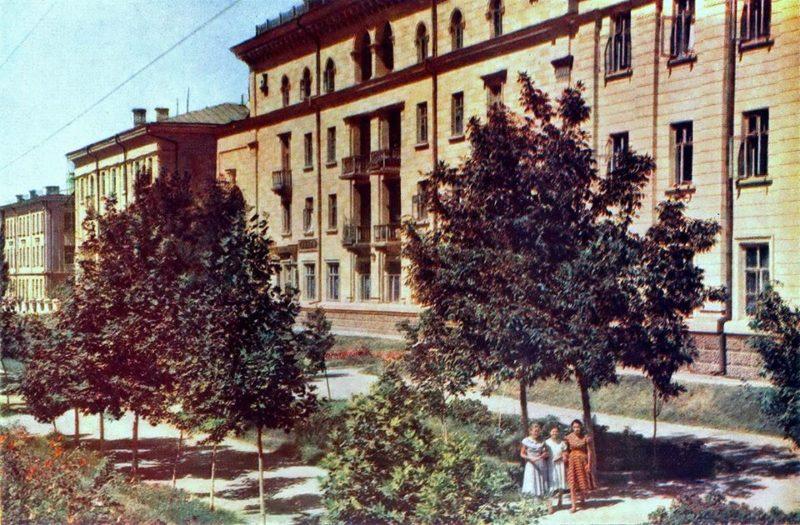 Ташкент в 50-е