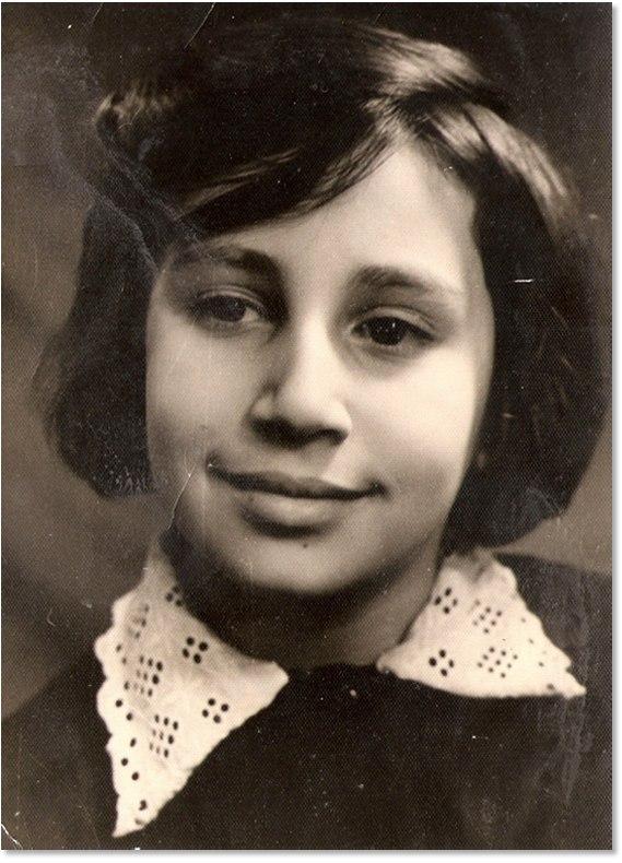 Дина Рубина в детстве