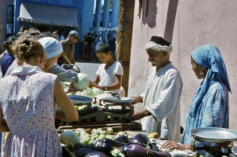 рынок в Ташкенте