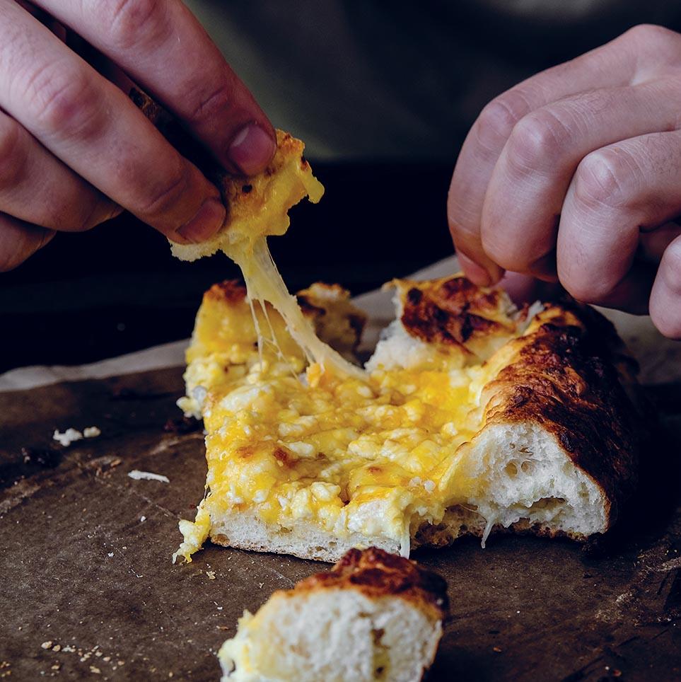 хачапури с яйцом