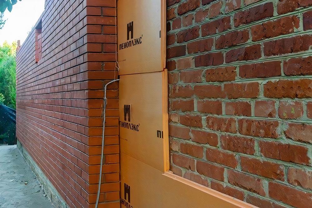 как утеплить стены пеноплексом