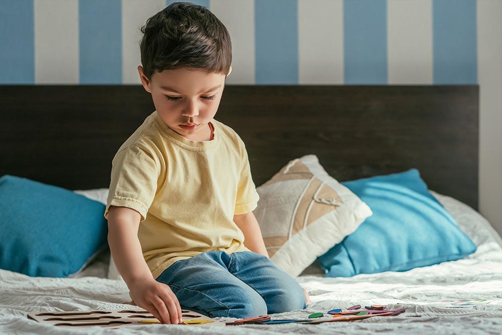 ребенок боится монстров перед сном