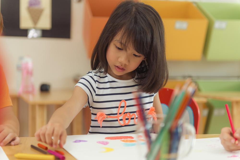дисциплина в китайском детском саду