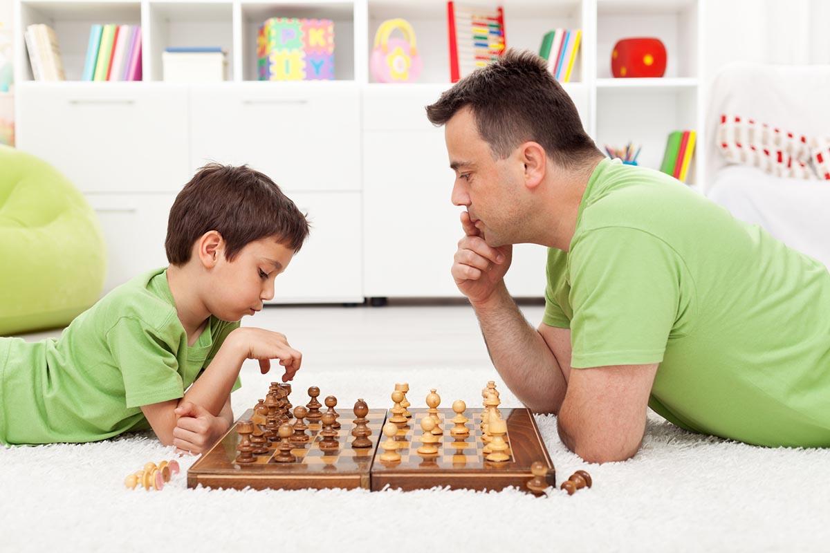 ребенок взрослее родителей