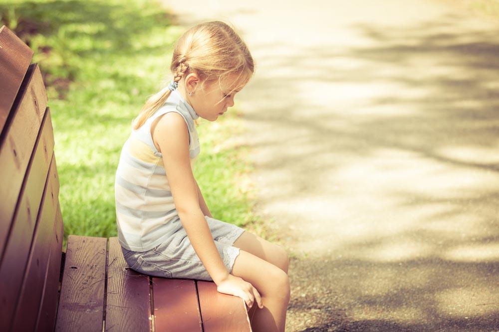 поведение ребенка после сообщения о разводе