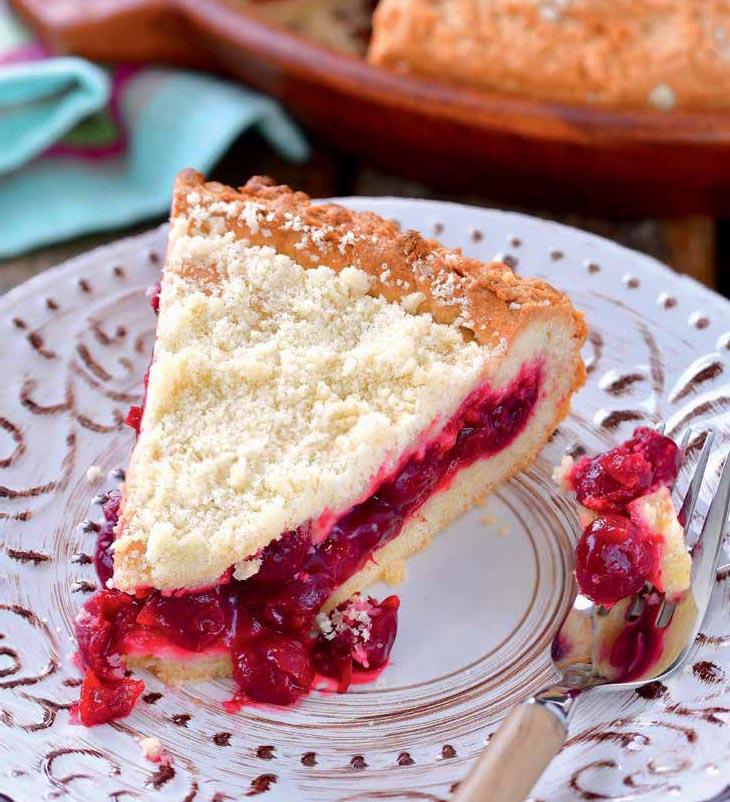 начинка с крахмалом для вишневого пирога