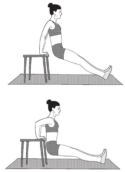 упражнение от дряблости рук
